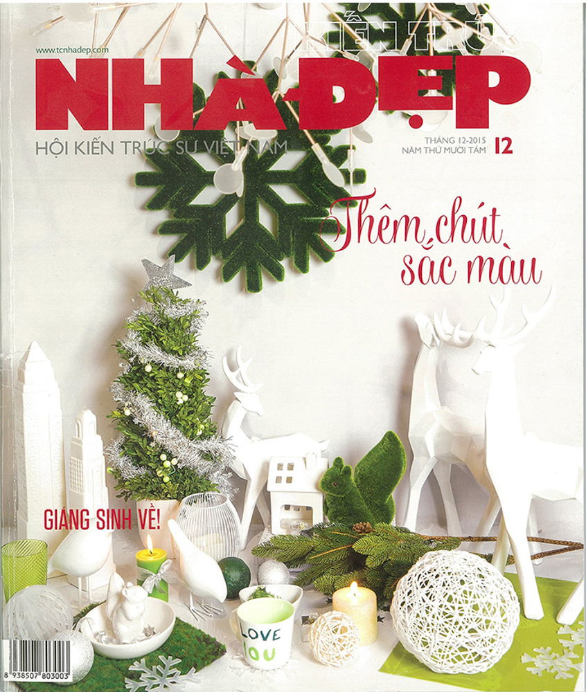 Nha Dep Magazine Dec 2015