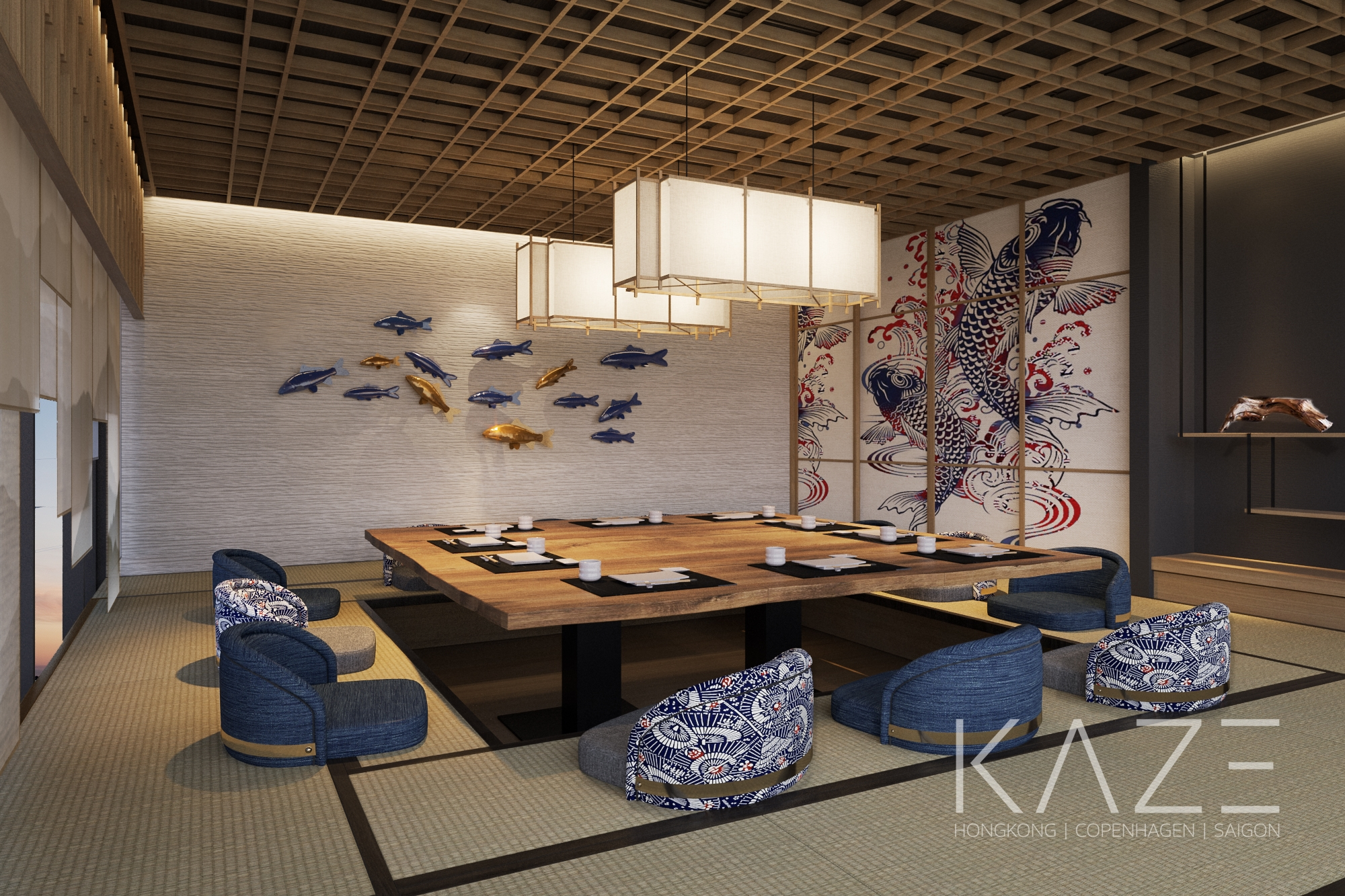 JAPANESE RESTAURANT - THE YACHT HOTEL BY DC