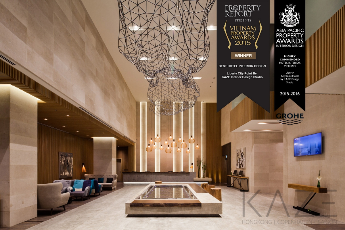 Hotel interior design project-Saigon Liberty Central Citypoint