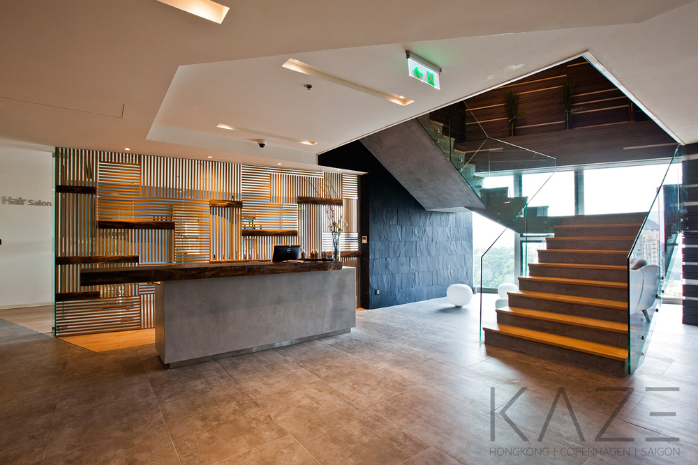 Hospitality interior design project by Kaze Studio in HCMC